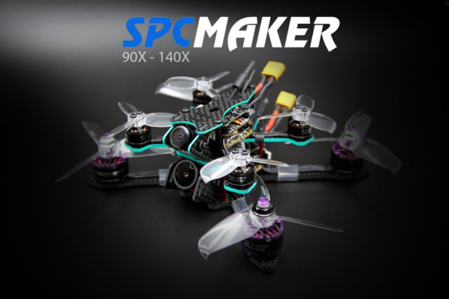 SPC Maker 140X 90X Mini Drone Brushless