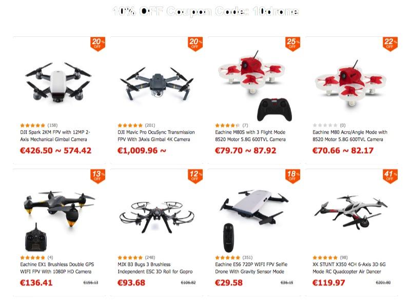 Promotion dji drones, avis drone cartographie