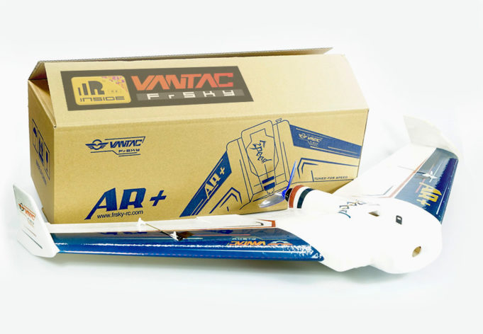 FrSky VANTAC aile volante wing packaging