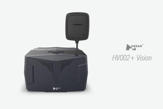 Hubsan HV002+ Vision casque fpv