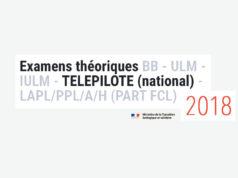 TELEPILOTE - Nouvel examen théorique 2018