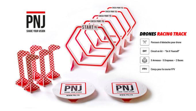 Track gates fpv racing drone