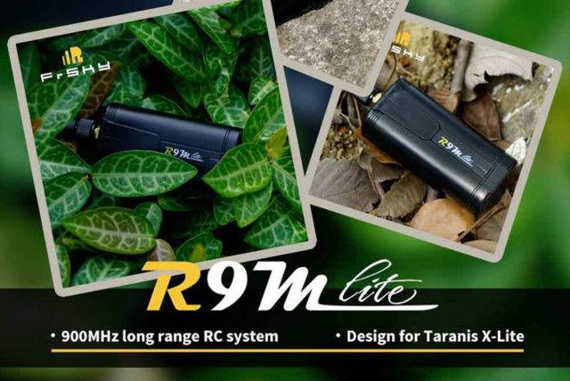 R9M Lite module 900MHz long range