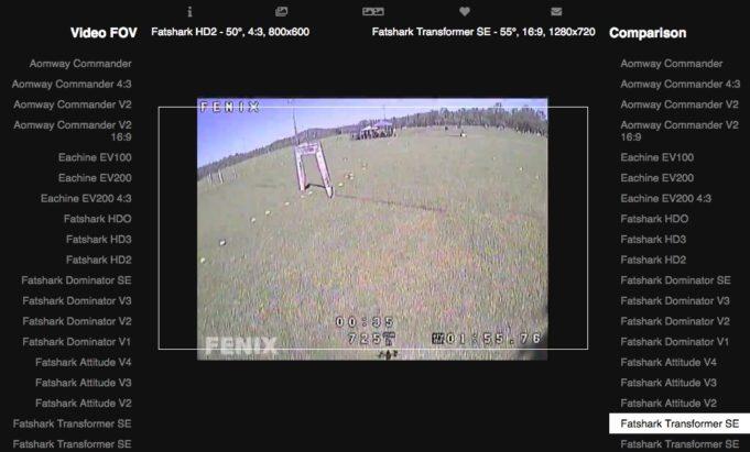fpv goggle comparison
