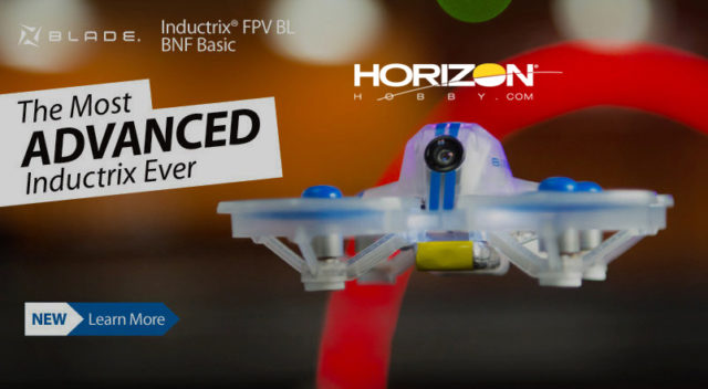 Blade Inductrix FPV BL BNF Basic