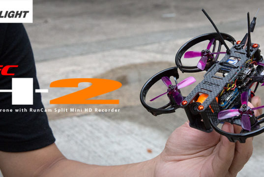 Storm H2 REC HD Cinematic micro drone Brushless
