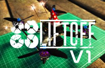 liftoff V1 simulator drone
