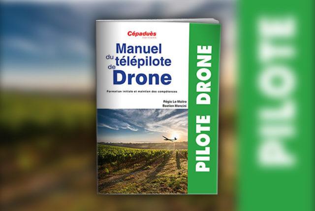 livre télépilote de Drone - préparation examen télépilote drone