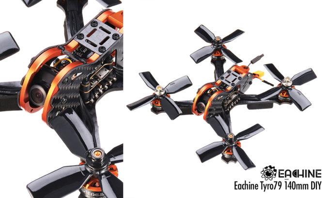 Eachine Tyro79 140mm DIY