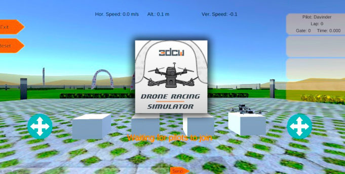 Drone Racing Simulator - Multiplayer sous Android