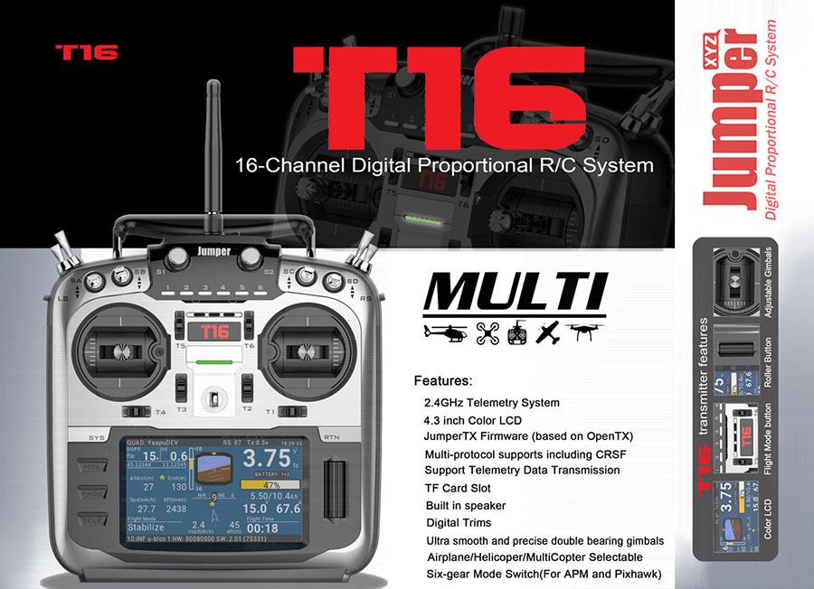 Jumper T16 Multi-protocol – Drone FPV News