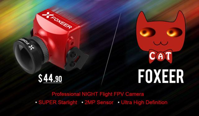 Foxeer Cat Super Starlight FPV Camera