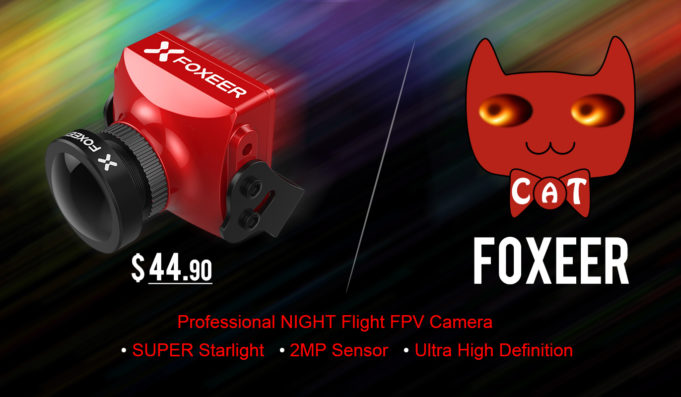 Foxeer Cat Super Starlight FPV Camera