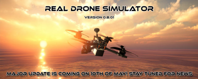 Real Drone Simulator v0.8.01