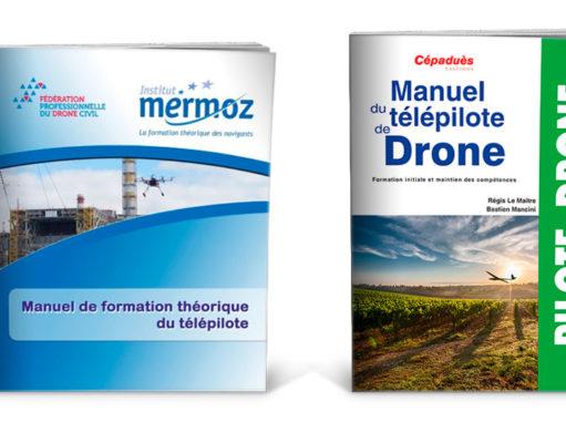 Manuel telepilote license professionnelle drone