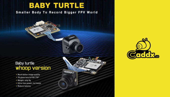 Caméra FPV Caddx Baby turtle - whoop version