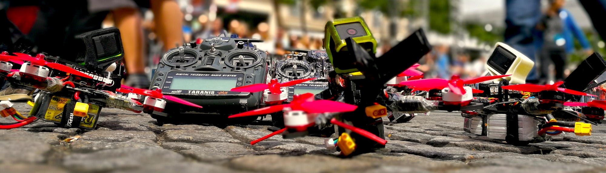 Photo drone racer FPV
