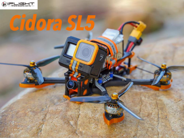 iFlight Cidora SL5 FPV racer