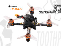 Eachine Tyro89 Toothpick DIY