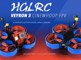 HGLRC Veyron 3 Cinewhoop FPV