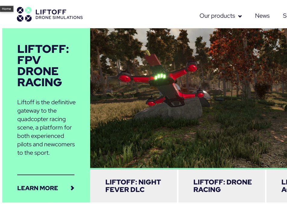 New Liftoff website
