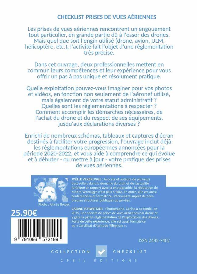 CHECKLIST Prises de Vues Aériennes fin du livre