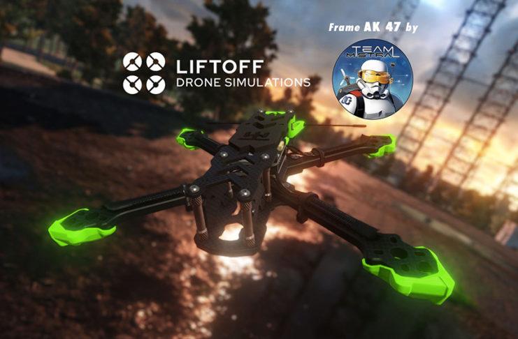 Frame AK47 on Liftoff by Team Mistral