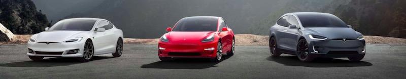 Tesla voiture
