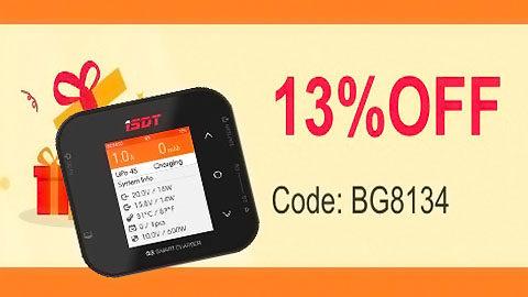 coupon - Chargeur de batterie RC Code exclusif France