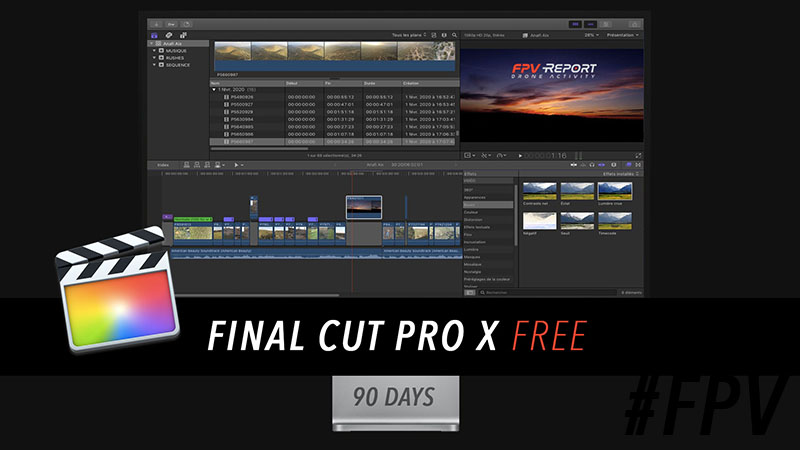Finalcut pro x Apple Free 90 Days