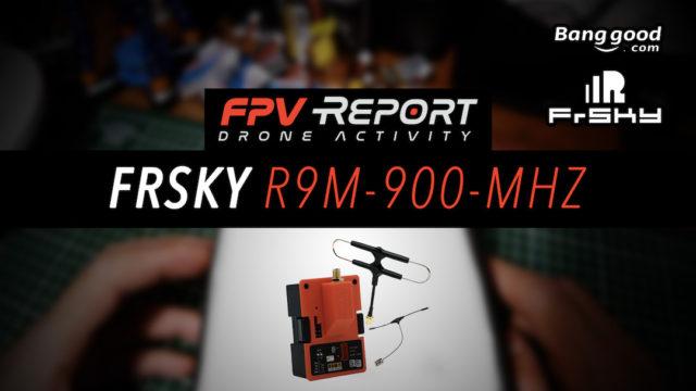 Long Range FPV FrSky R9M 900 MHz Récepteur R9 MM Antenne Super-8