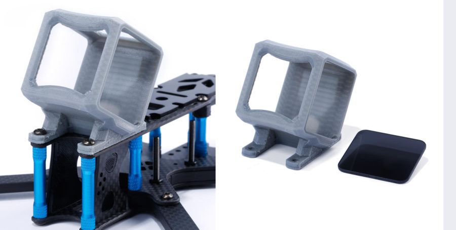support de caméra pour Gopro Hero 4:5 Session TPU_files - filtre UV