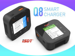 ISDT Q8 Smart Charger Lipo FPV