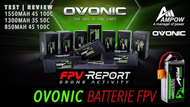 Ovonic Lipo 1550 1300 850 mAh pour drone FPV racer