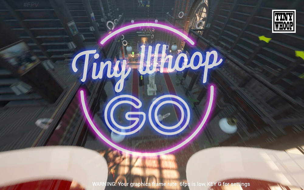 Tiny Whoop GO simulator FPV