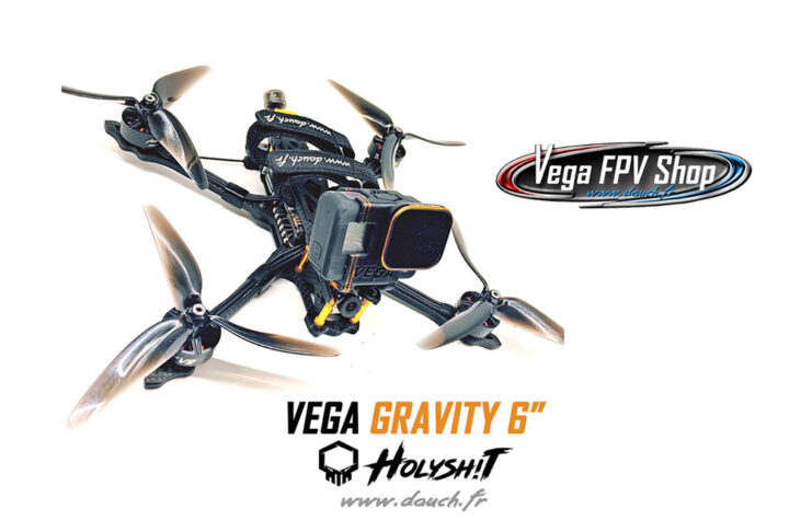 VEGA GRAVITY 6 HOLYSHIT LUXURY FPV FREESTYLE FRAME