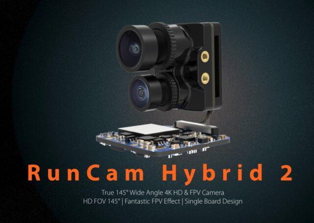 RunCam Hybrid 2   FPV + 4k