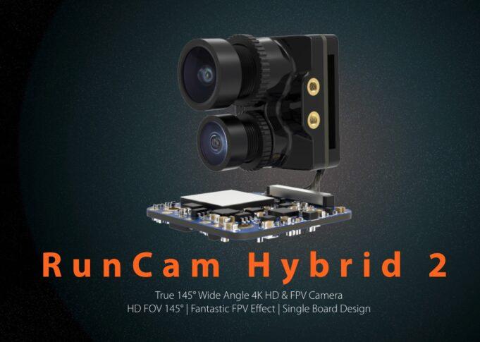 RunCam Hybrid 2 | FPV + 4k