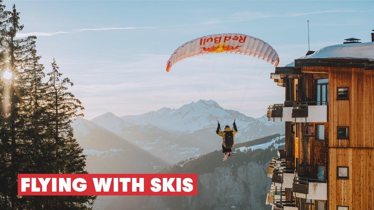 Speedriding Through An Alpine Resort | From Avoriaz FPV cinematic