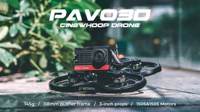 betafpv Pavo30 cinewhoop drone fpv
