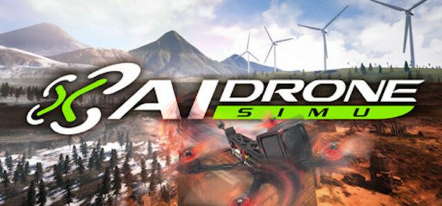 AI Drone Simulator FPV Drone