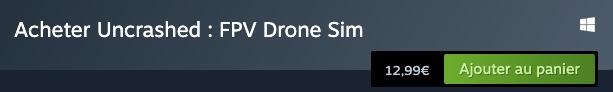 Acheter sur acheter Uncrashed FPV Drone Sim